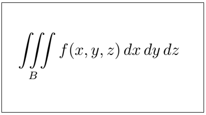Latex Integral 3