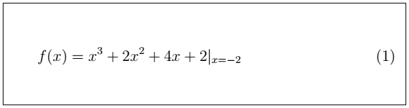 Latex Mathematical Equations 15