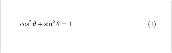 Latex Mathematical Equations 7
