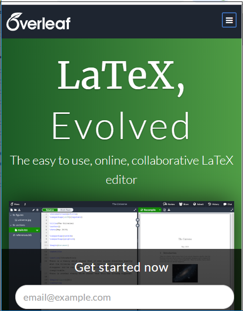 Latex Overleaf