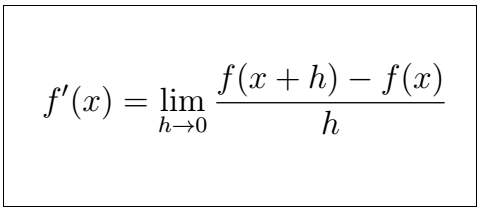Latex Partial Derivative 1