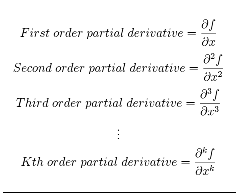 Latex Partial Derivative 2