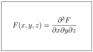 Latex Partial Derivative 4
