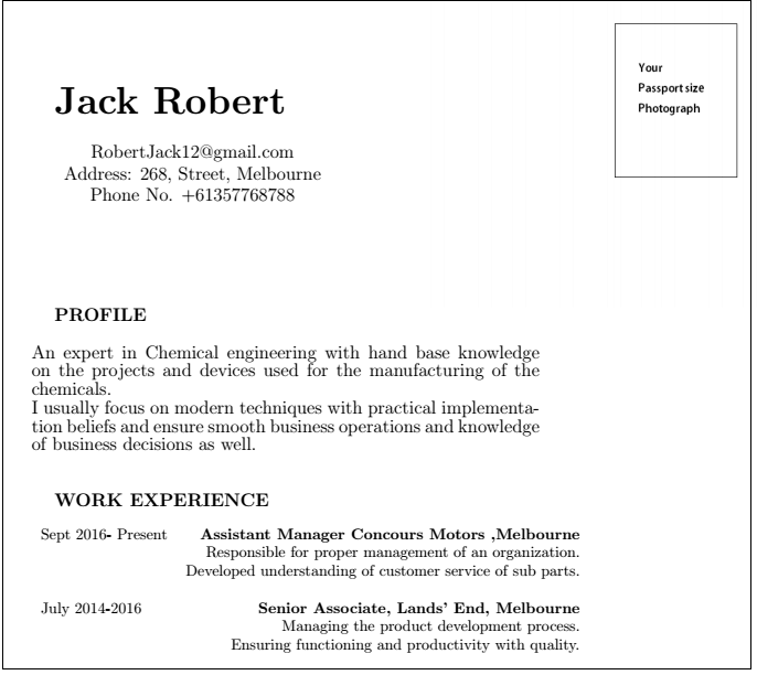 Latex Resume and Templates