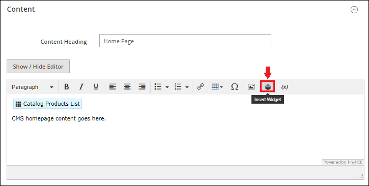 How to add the product on Home page in Magento 2