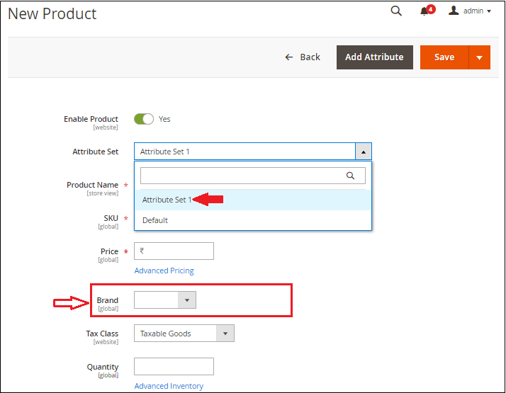 How to create Attribute Sets in Magento 2
