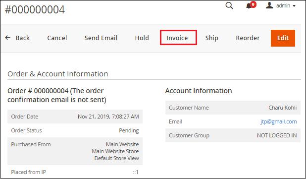 Magento 2 Order Processing