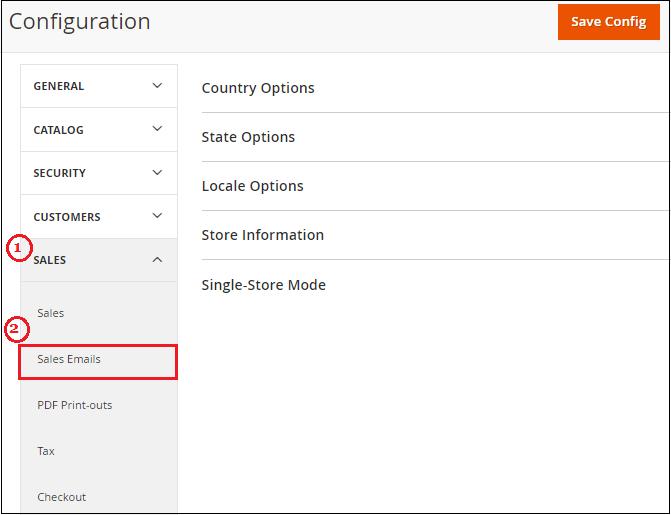 set up Order Emails in Magento 2