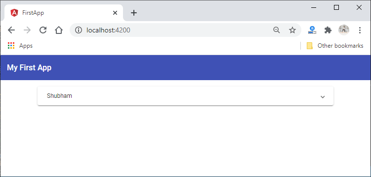 Add routing in MEAN Stack