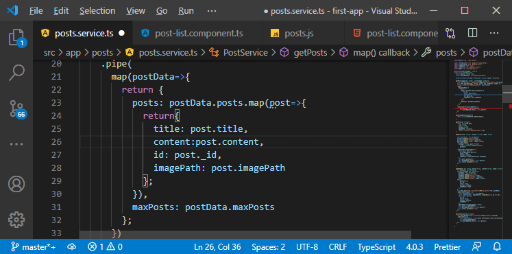 Connecting the Angular Paginator to the Backend in MEAN Stack
