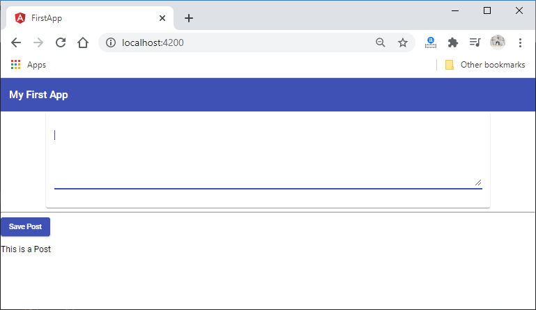 Creating a toolbar
