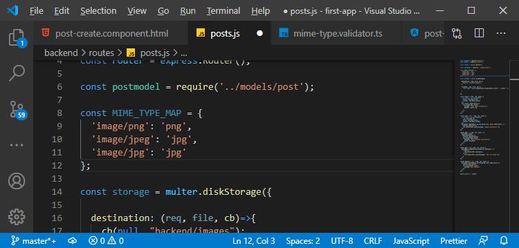 Server-side uploading of the image in MEAN Stack
