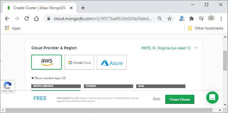 Setup MongoDB in MEAN Stack