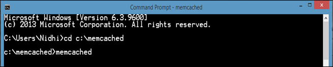 How to Install Memcached on Windows