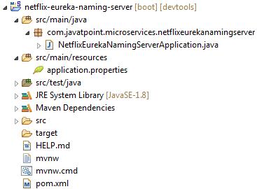 Eureka Naming Server