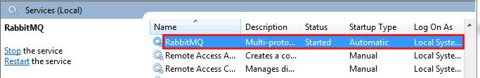 Installing RabbitMQ Server