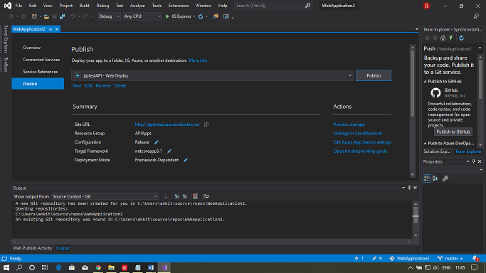 Azure API Apps and API Management