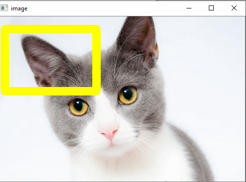 OpenCV Drawing Functions