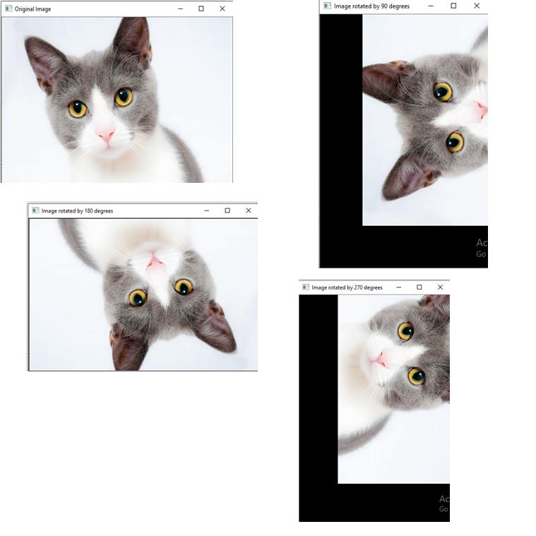 OpenCV Image Rotation