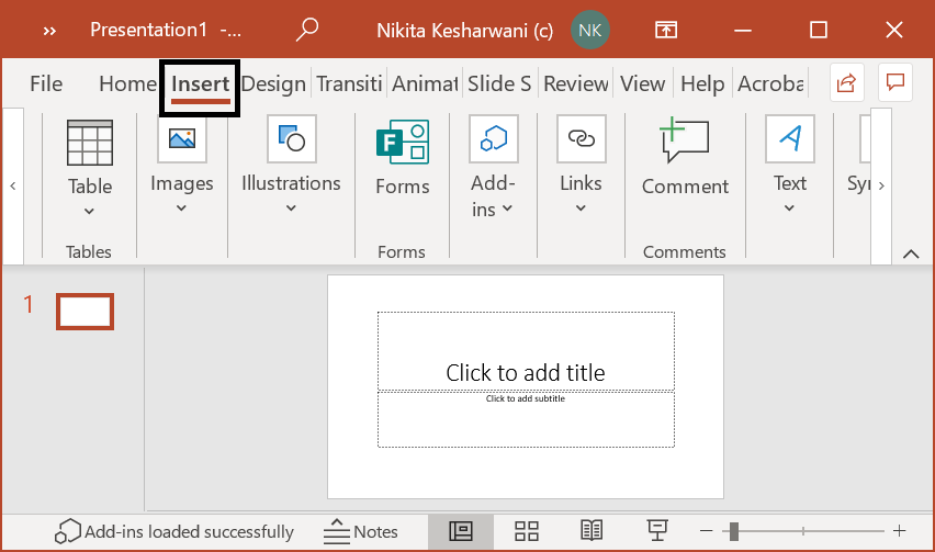 Insert PDF into PowerPoint