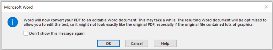 Open a PDF