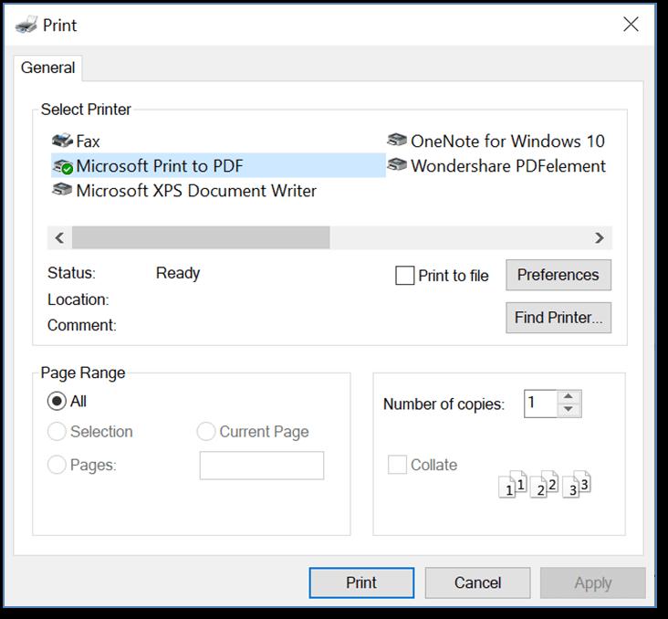 Save a PDF