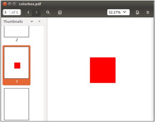 PDFBox Adding Rectangles