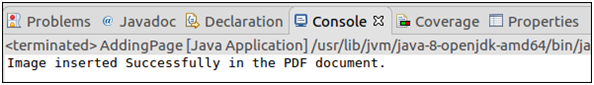 PDFBox Inserting Image To PDF Document