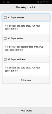 Collapsible Content Blocks