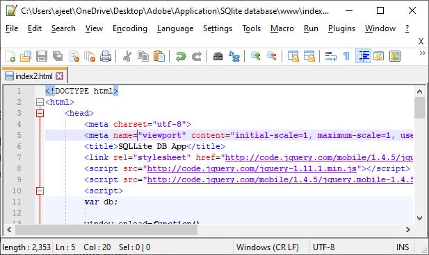 Retrieving data from SQLite database