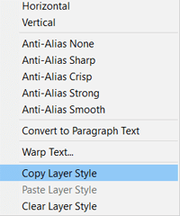 Layer Effects and Styles in Photoshop