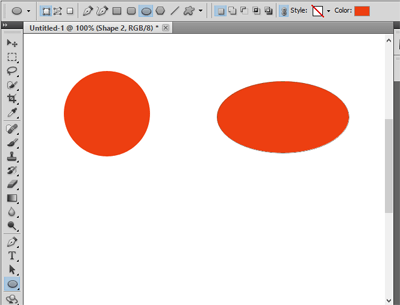 Shapes in Photoshop