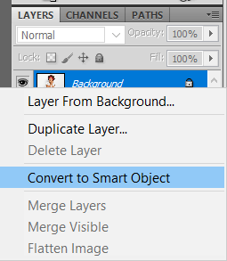 Smart Object in Photoshop