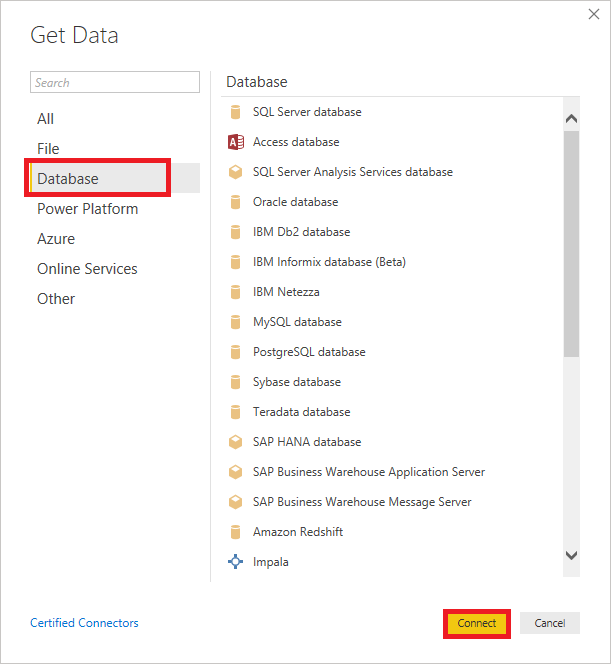 Power BI Data Sources