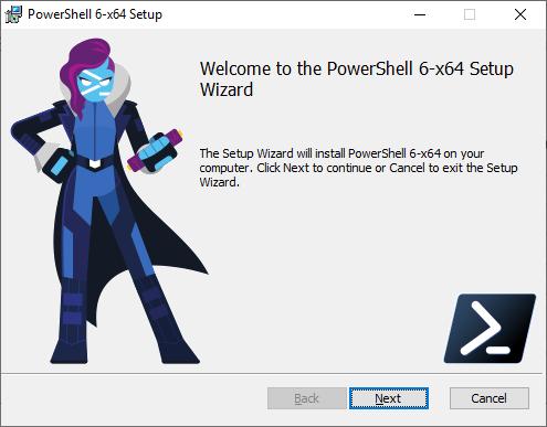 PowerShell Core