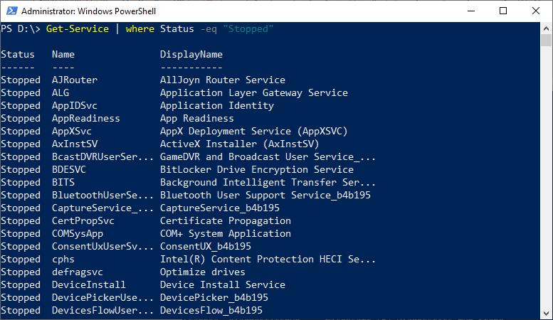 PowerShell Where-Object