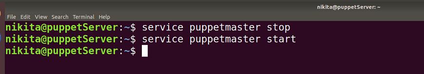 Puppet Installation