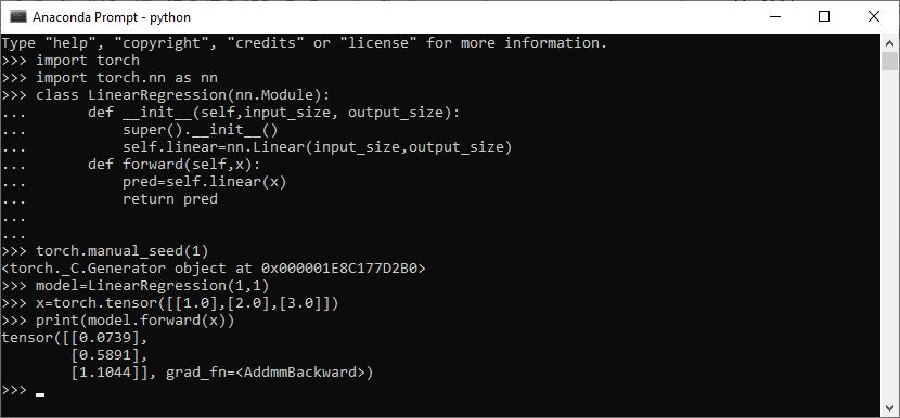 Custom Module (Creating Data Model)