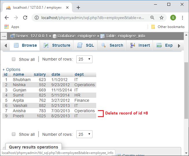 R Database