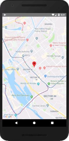 React Native Google Map