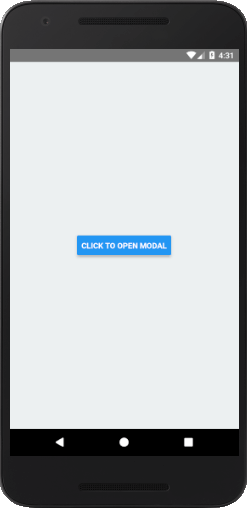 React Native Modal
