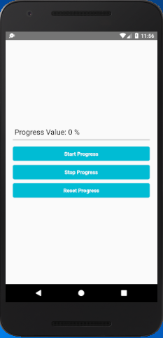 React Native ProgressBarAndroid