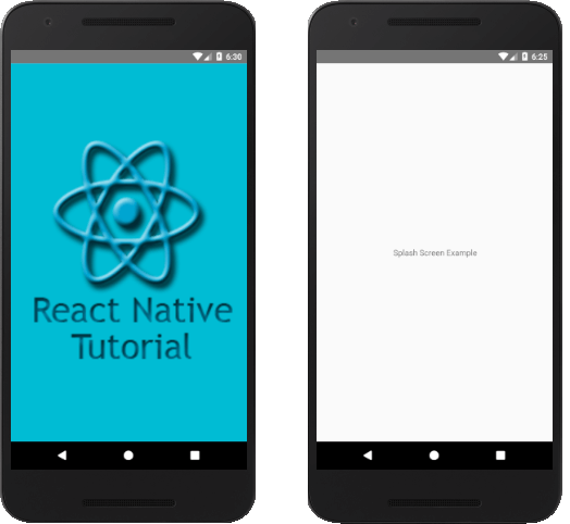 React Native Splash Screen