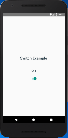 React Native Switch