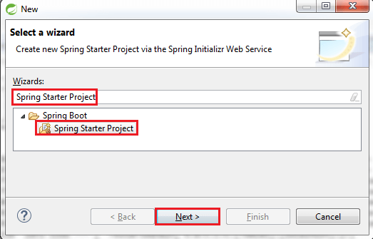 Initializing a RESTful Web Services Project with Spring Boot