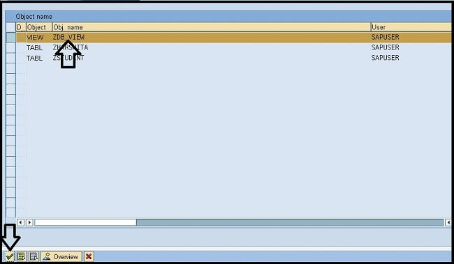 Database Views in ABAP