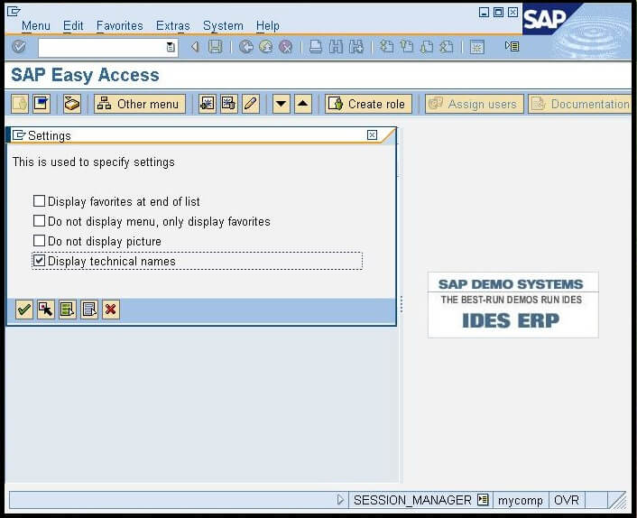 Transaction Codes in SAP
