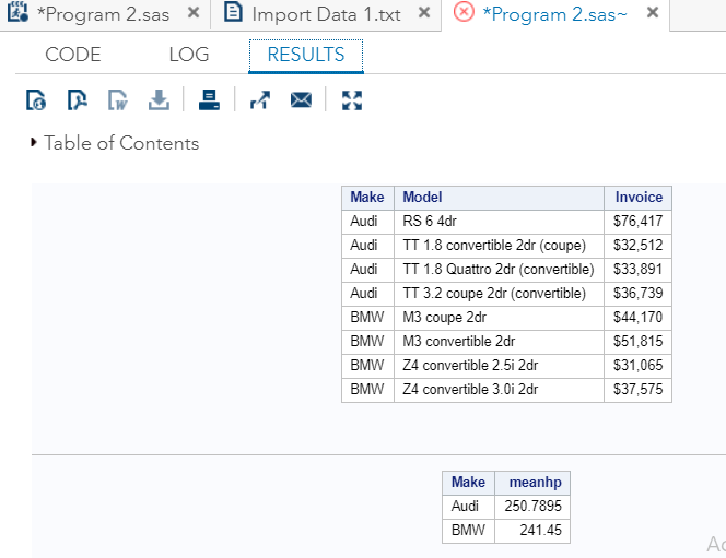 SAS Output Delivery System