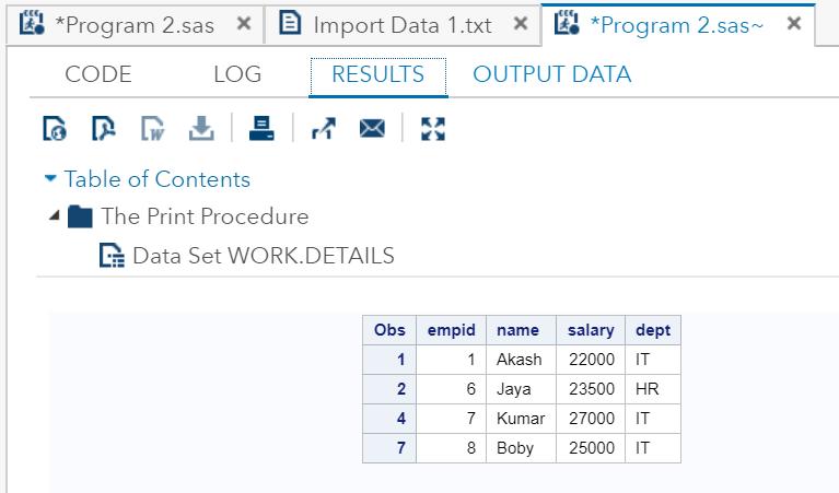 SAS-SQL