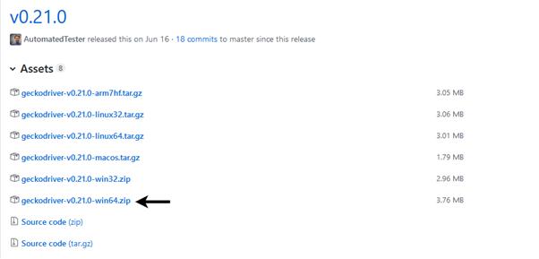 Selenium WebDriver Running test on Firefox Browser Gecko Driver